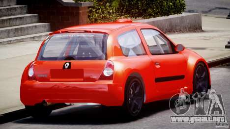 Renault Clio Sport para GTA 4 vista lateral