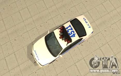 Patrulla de la policía de GTA 4 para la visión correcta GTA San Andreas