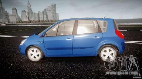 Renault Scenic II Phase 2 para GTA 4 left