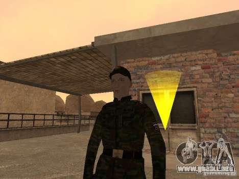Soldados del ejército ruso para GTA San Andreas