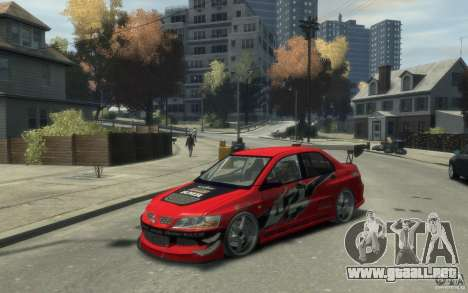 Mitsubishi Lancer para GTA 4