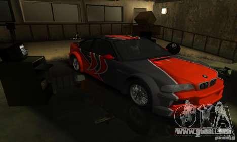 BMW M3 Tuneable para GTA San Andreas
