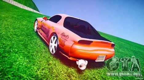 Mazda RX-7 ProStreet Style para GTA 4 vista lateral