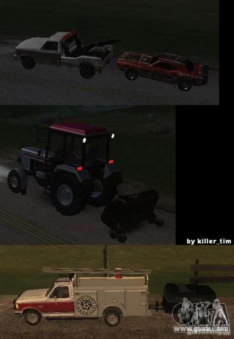 Camiones v2.0 para GTA San Andreas