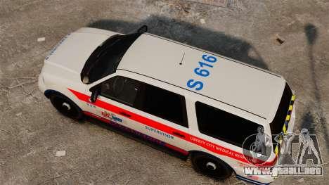 Policía Landstalker ELS para GTA 4 visión correcta