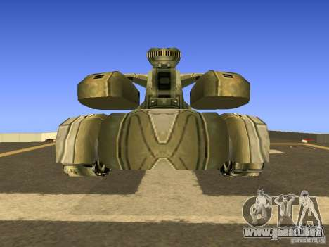 Star Wars Tank v1 para la visión correcta GTA San Andreas