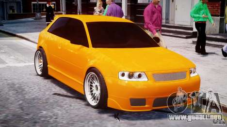 Audi A3 Tuning para GTA 4 vista superior