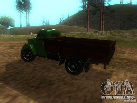 Gaz-63 para GTA San Andreas left