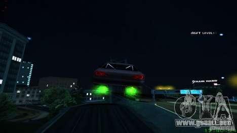 Nuevos efectos 1.0 para GTA San Andreas sucesivamente de pantalla