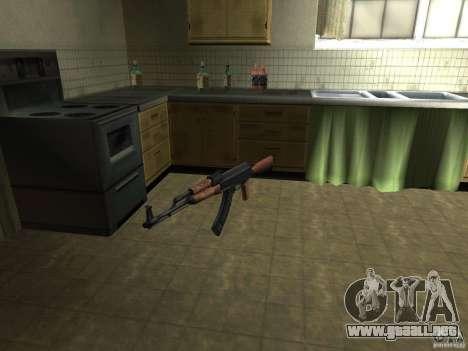 Armas nacionales Pak para GTA San Andreas