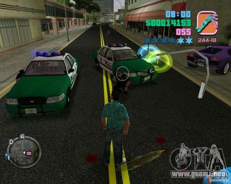 Policías de ropa nueva para GTA Vice City quinta pantalla