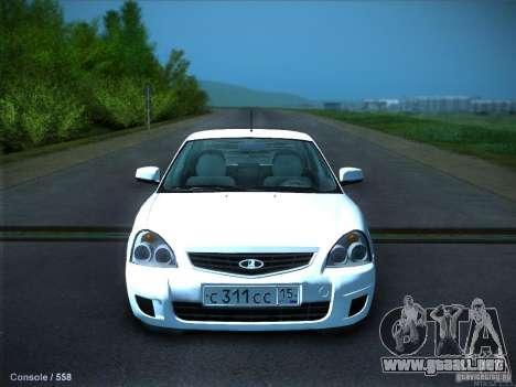 LADA 2170 KTA para GTA San Andreas