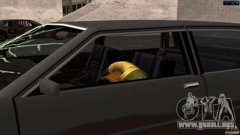 Muerte en el coche para GTA San Andreas segunda pantalla