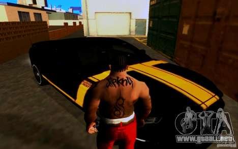 Slipknot tatoo para GTA San Andreas