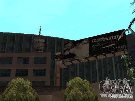 Rep cuarto v1 para GTA San Andreas quinta pantalla