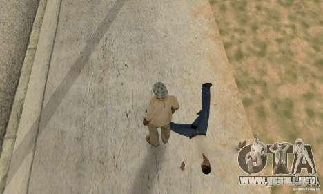 Colisión de GTA 4 para GTA San Andreas sucesivamente de pantalla