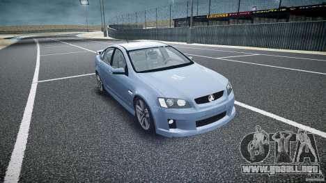 Holden Commodore SS (CIVIL) para GTA 4 vista hacia atrás