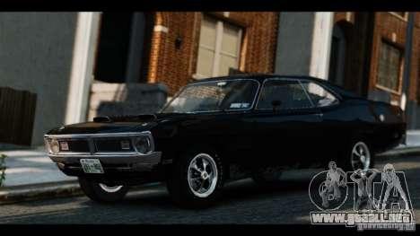 Dodge Demon 1971 para GTA 4 Vista posterior izquierda