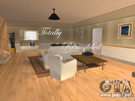 CJ Total House Remodel V 2.0 para GTA San Andreas