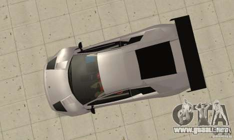 Lamborghini Murcielago R GT para la visión correcta GTA San Andreas