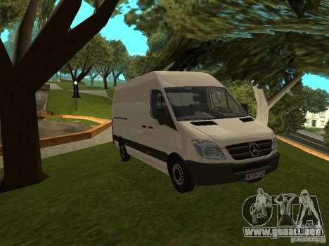 Mercedes Sprinter 311CDi beta para GTA San Andreas