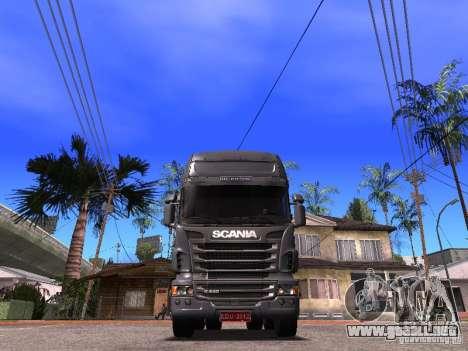 Scania R-440 para la visión correcta GTA San Andreas
