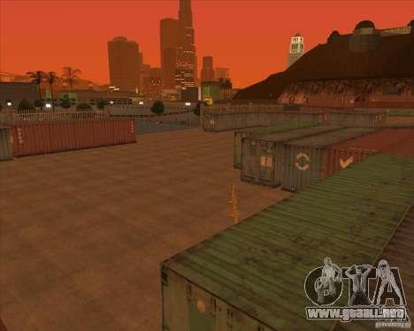 Portland para GTA San Andreas sucesivamente de pantalla