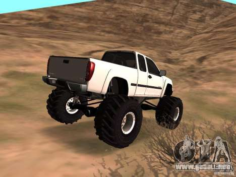 Chevrolet Colorado Monster para GTA San Andreas left