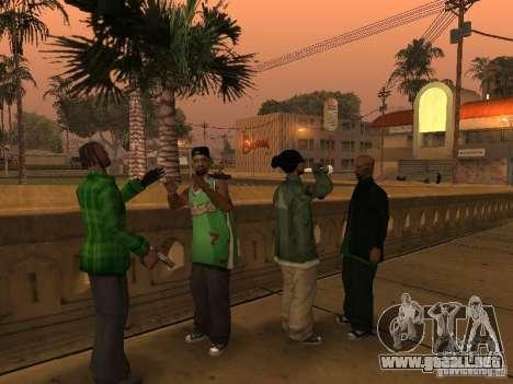 Nuevos aspectos de la pandilla de la calle Grove para GTA San Andreas tercera pantalla