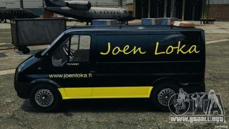 Ford Transit Joen Loka [ELS] para GTA 4 left
