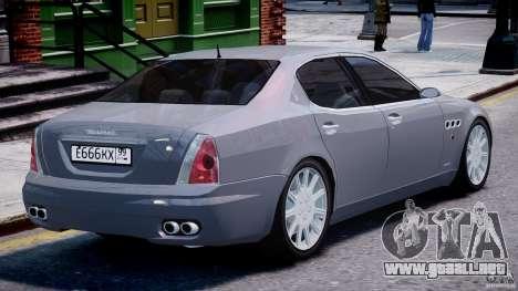 Maserati Quattroporte V para GTA motor 4