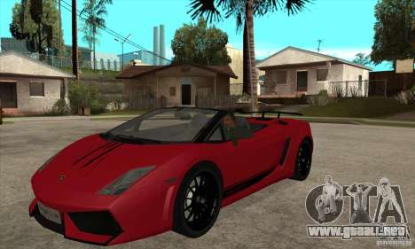 Lamborghini LP570-4 Performante 2011 para GTA San Andreas