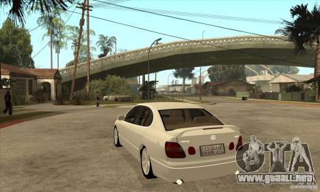 Lexus GS300 2003 para GTA San Andreas vista posterior izquierda