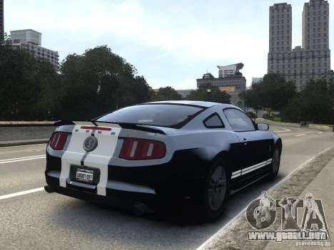 Ford Shelby GT500 2010 WIP para GTA 4 left