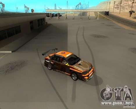 Subaru Impreza WRX Team Orange DRIFT SA-MP para GTA San Andreas left