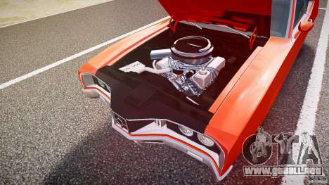 Mercury Cyclone Spoiler 1970 para GTA 4 interior