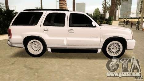 Cadillac Escalade para GTA Vice City left