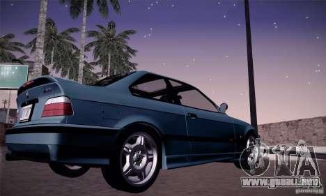 BMW E36 M3 Coupe - Stock para la visión correcta GTA San Andreas