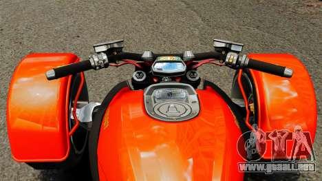 Ducati Diavel Reversetrike para GTA 4 visión correcta