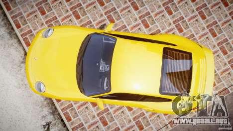 Porsche 911 (997) Turbo v1.0 para GTA 4 visión correcta