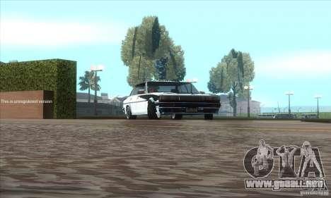 Toyota Cresta GX71 para GTA San Andreas vista hacia atrás