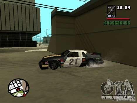 Transfender fix para GTA San Andreas tercera pantalla