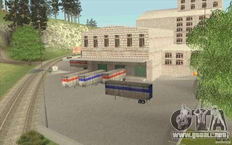 Petrolera Lukoil para GTA San Andreas sucesivamente de pantalla