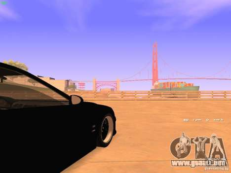 BMW M5 E39 Stanced para vista lateral GTA San Andreas