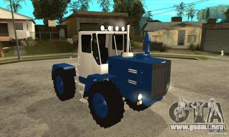 Corte de tractor para GTA San Andreas vista hacia atrás