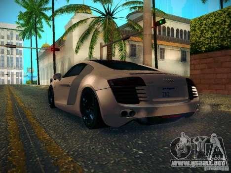 Audi R8 V10 para la visión correcta GTA San Andreas