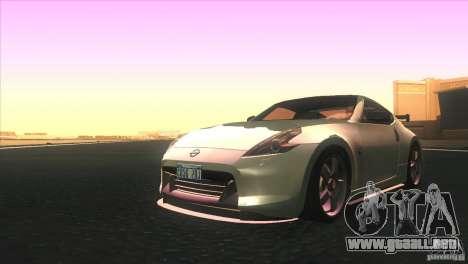 Nissan 370Z Drift 2009 V1.0 para GTA San Andreas