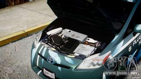 Toyota Prius 2011 PHEV Concept para GTA 4 visión correcta