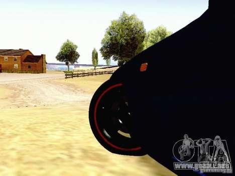 Toyota Supra Drift Edition para vista lateral GTA San Andreas