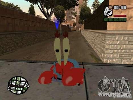 Don Cangrejo para GTA San Andreas tercera pantalla